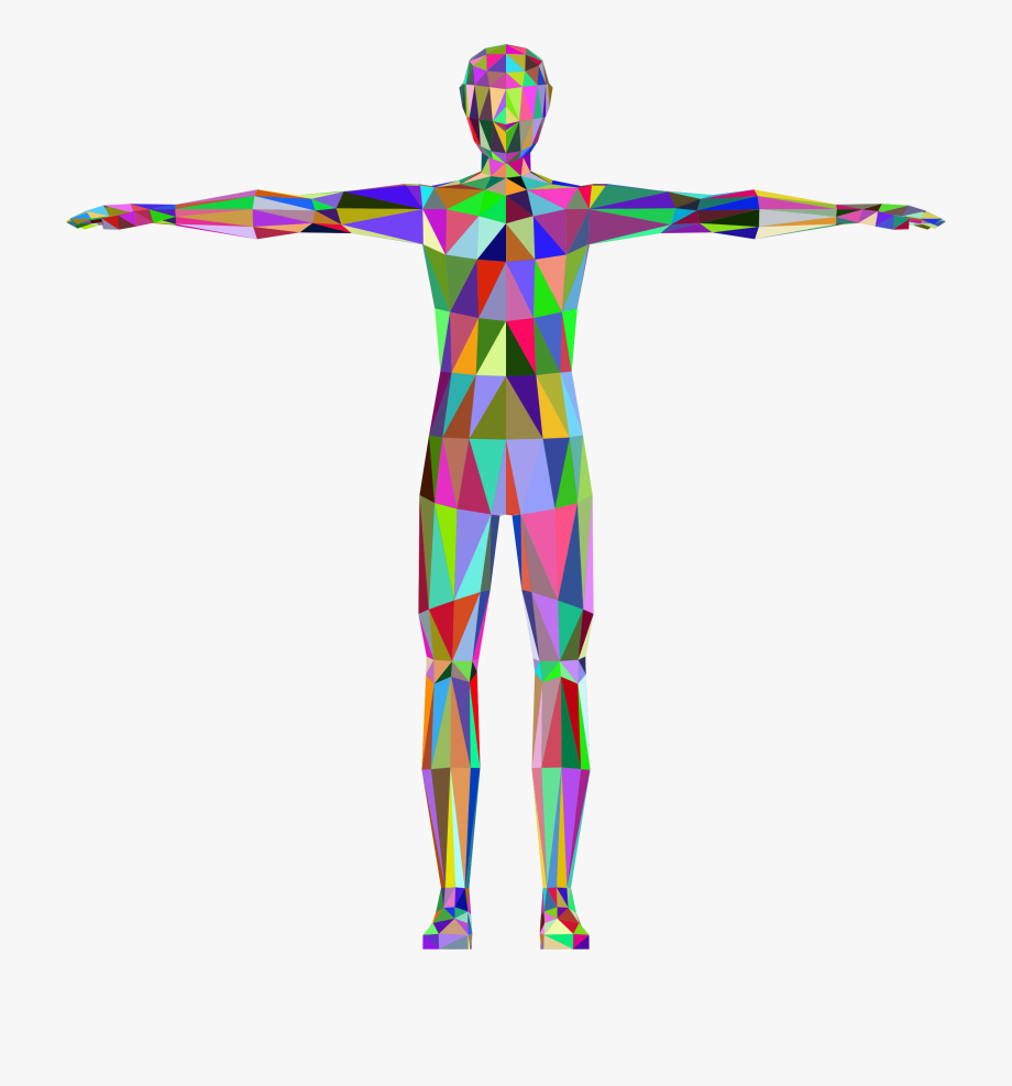 Large Human Body Clipart.