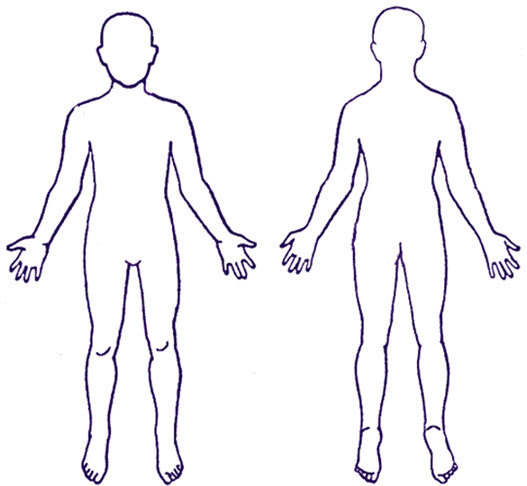 Free Body Outline, Download Free Clip Art, Free Clip Art on.
