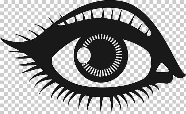 Human eye , stretch as far as eye can see PNG clipart.