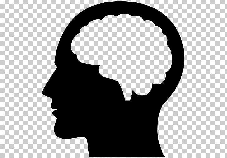 Human Brain Human Head PNG, Clipart, Black And White, Brain.