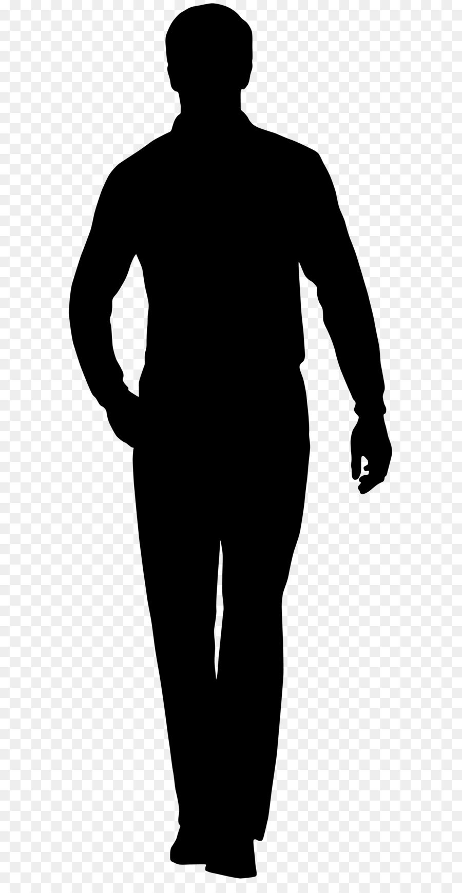 Human Silhouette Png.