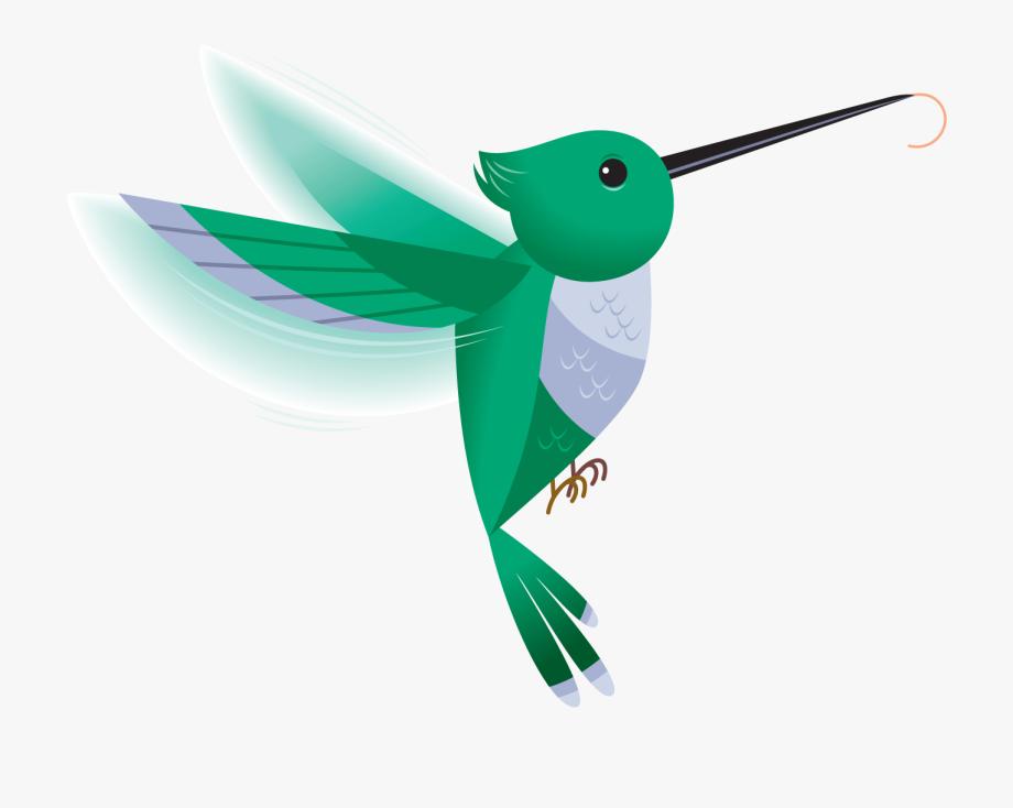 Clip Art Hummingbird.