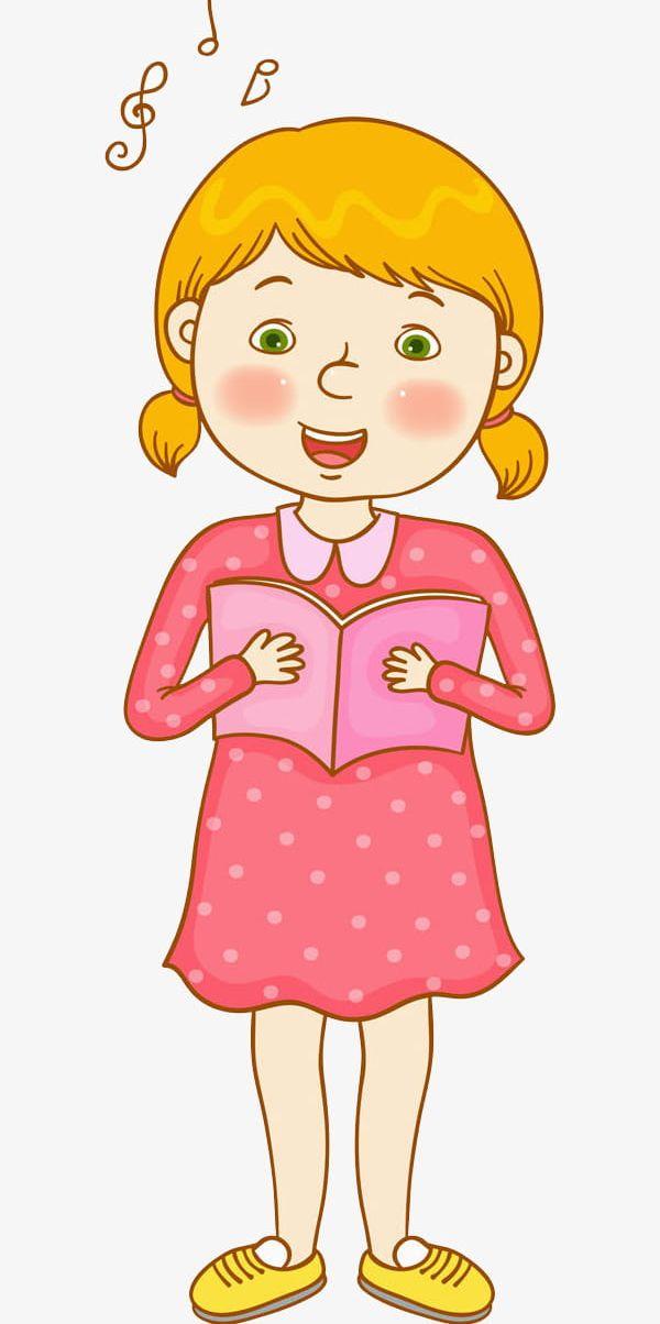 A Girl Humming Music PNG, Clipart, Cartoon, Eyes, Girl, Girl.
