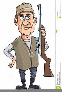 Shotgun Hunter Clipart.