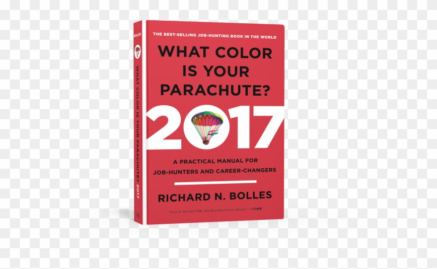 Color Is Your Parachute? 2017 By Richard N Bolles Clipart.