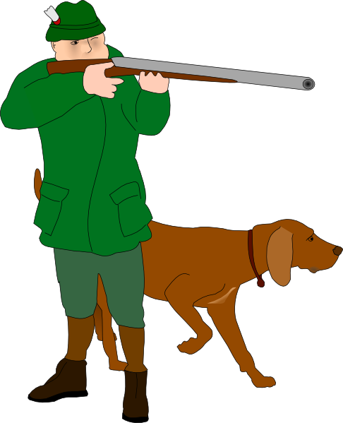 Clipart Of Hunting.