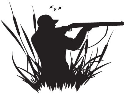 Duck Hunting Clipart.