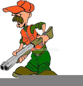 Clipart Of A Hunter.