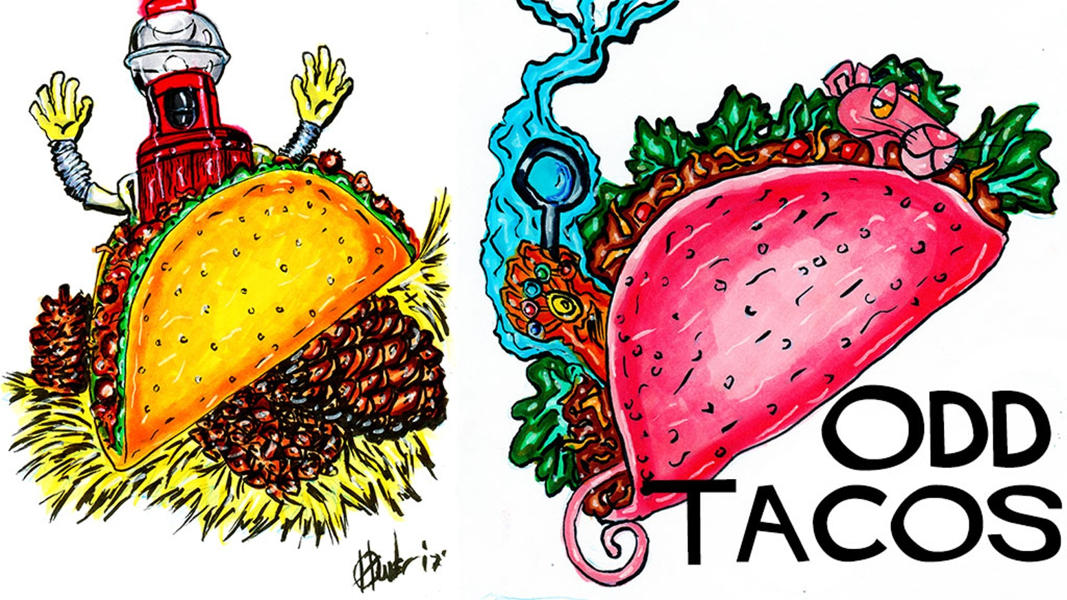 J.M. Hunter\'s Odd Tacos and Other Absurd Commissions by J.M..