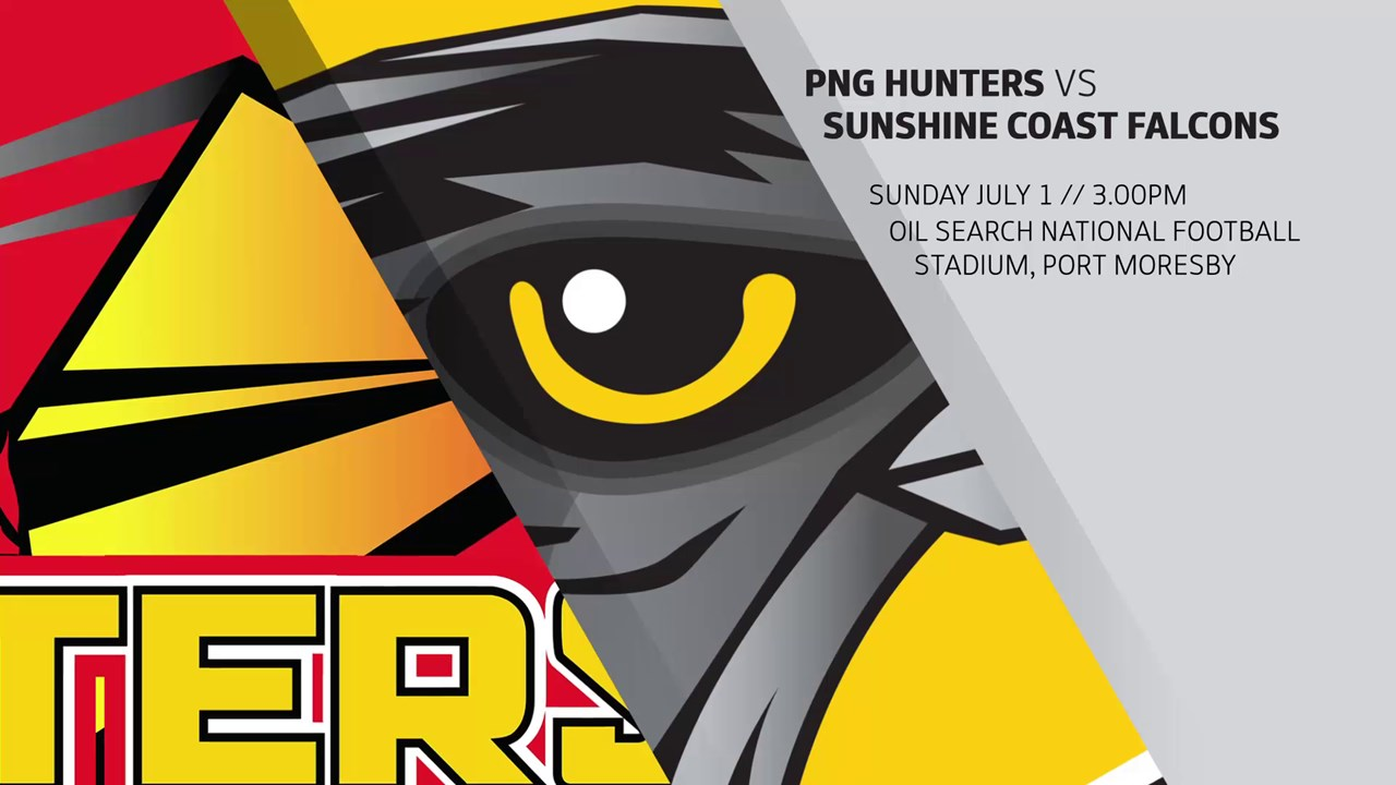 Intrust Super Cup Round 16 Highlights: Hunters v Falcons.