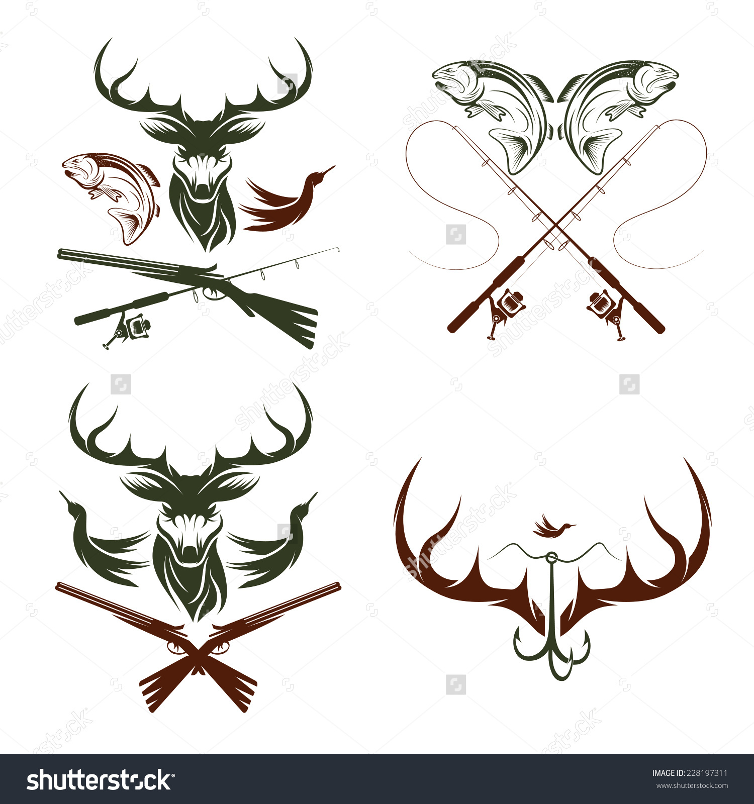 3001 Hunting free clipart.