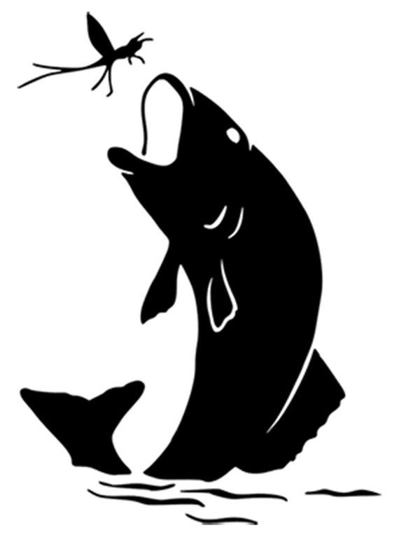 Fish Logo #21, Fish On Svg, Fish Hunting, Fishing Svg Files.