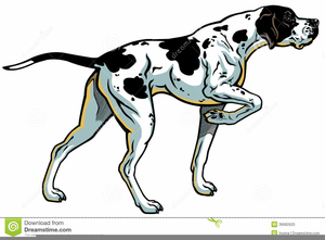 Free Hunting Dog Clipart.
