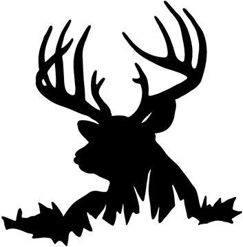 Deer hunting clipart free images 4.