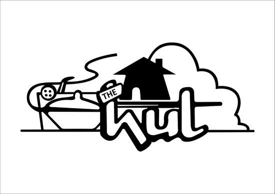 The Hut logo.