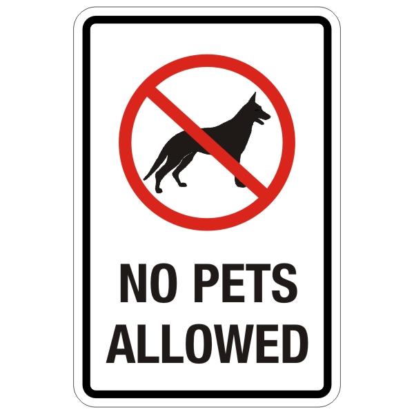 No Pets Allowed Clip Art.