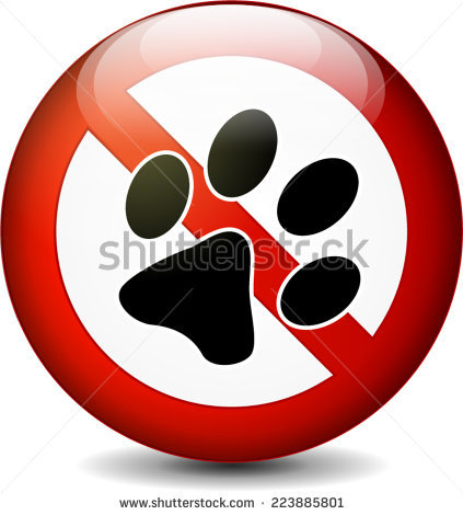 No Pets Allowed Stock Images, Royalty.