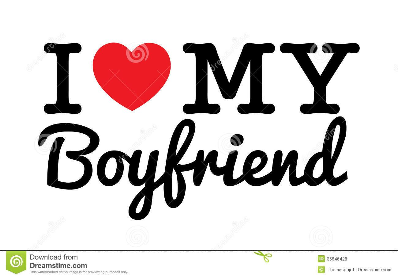 I Love You Boyfriend Clipart.