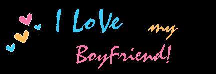 I Love My Boyfriend Clipart.