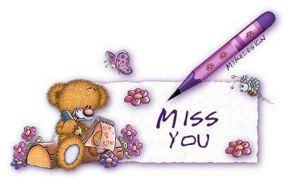 I Miss You Clip Art.