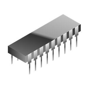 Integrated Circuit clipart, cliparts of Integrated Circuit.