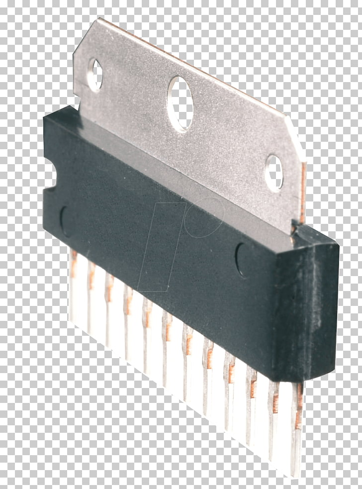 Electronic component Transistor Operational amplifier.