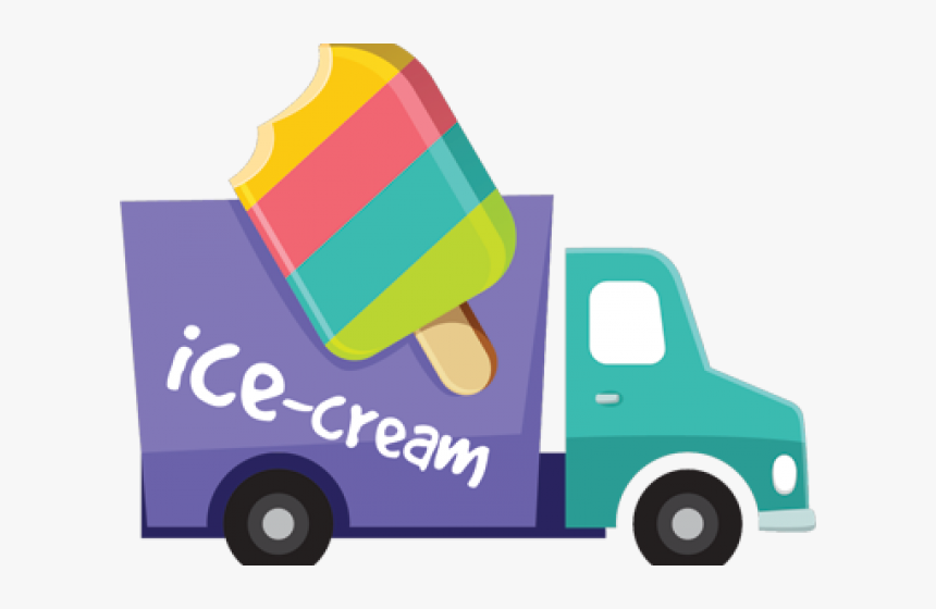 Ice Cream Truck Png.