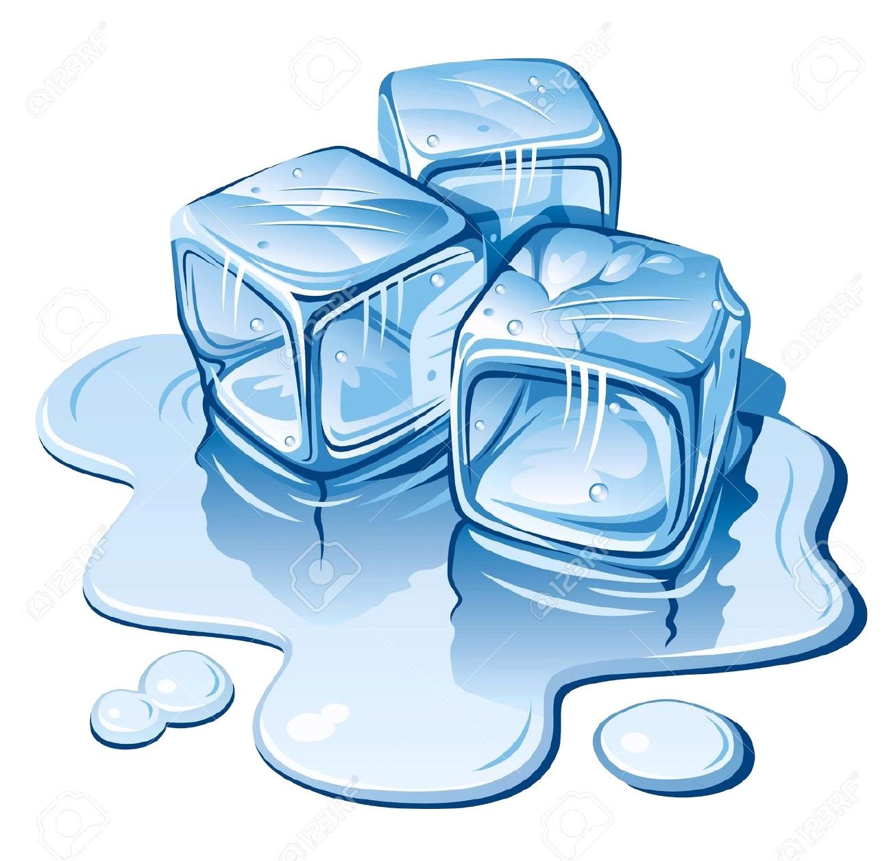 Ice cube clipart 8 » Clipart Station.