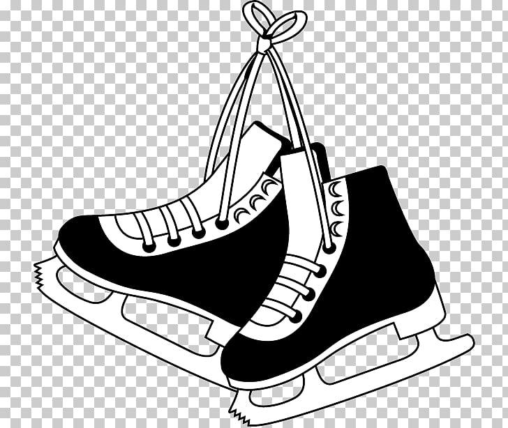 Ice Skates Ice skating Ice hockey , ice skates PNG clipart.