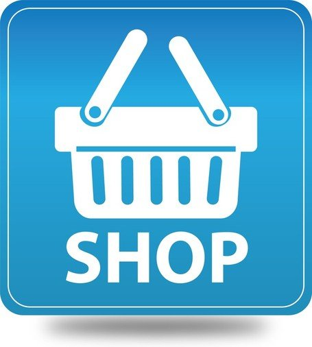 Free Vector Online Shopping Icon Clipart Picture.