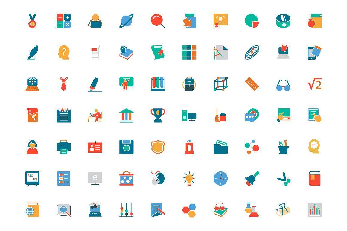 300+ Education Colored Icons icon, flaticon, icons, icon.