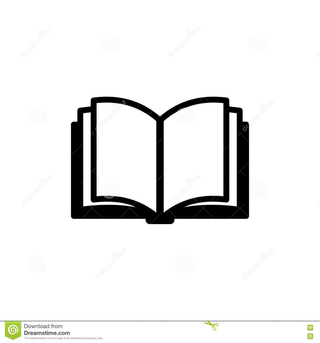 Book Icon Clipart.
