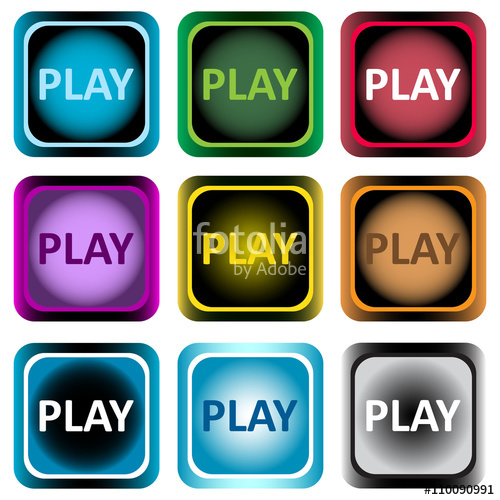 Clipart color icon word play