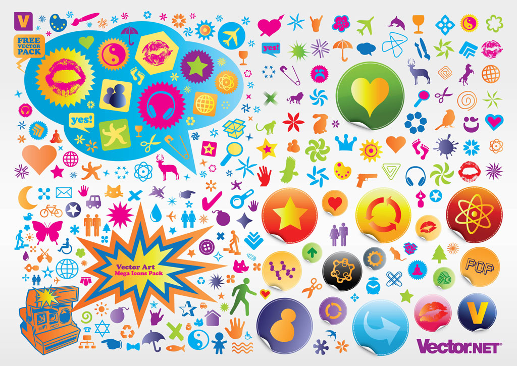 Vector Icons Pack Vector Art & Graphics.
