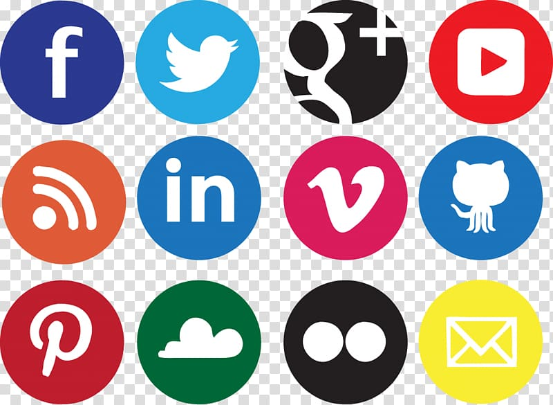Social media Social network Icon design Icon, Social Icons.