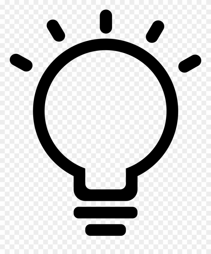 Idea Clipart Png Icon.