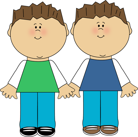 Brothers clipart brown hair, Brothers brown hair Transparent.