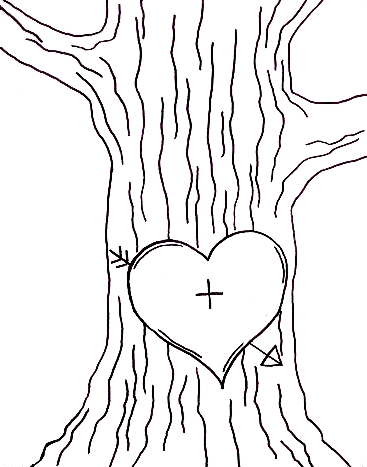Heart Carved In Tree Clip Art Related Keywords & Suggestions.