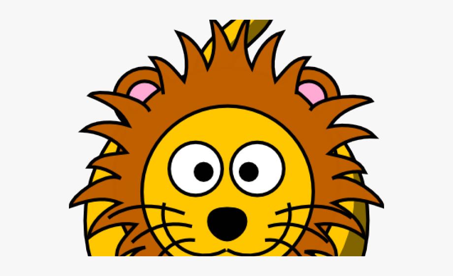 Cartoon Lion Cliparts.
