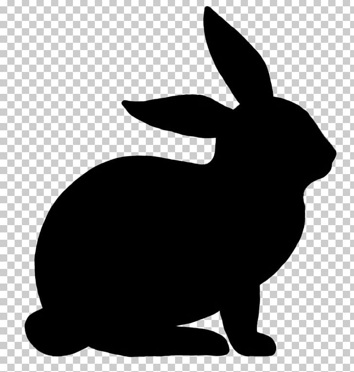Easter Bunny Rabbit Silhouette PNG, Clipart, Animals, Art.