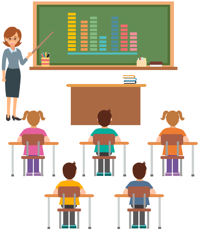 Vector School Life Clipart and Examples.