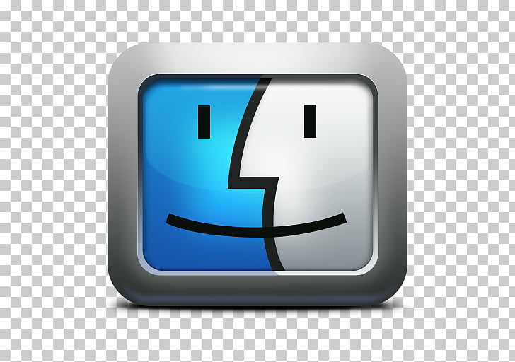 Macintosh operating systems macOS , Finder Mac Icon PNG.