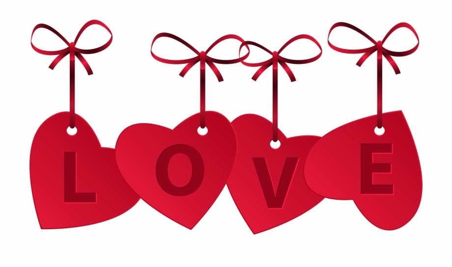 Love Text Clipart Banner.