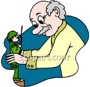 Toy Maker Clipart.
