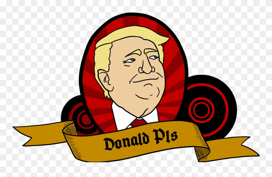 My Brother Is Making A Djt Parody App That Generates Clipart.