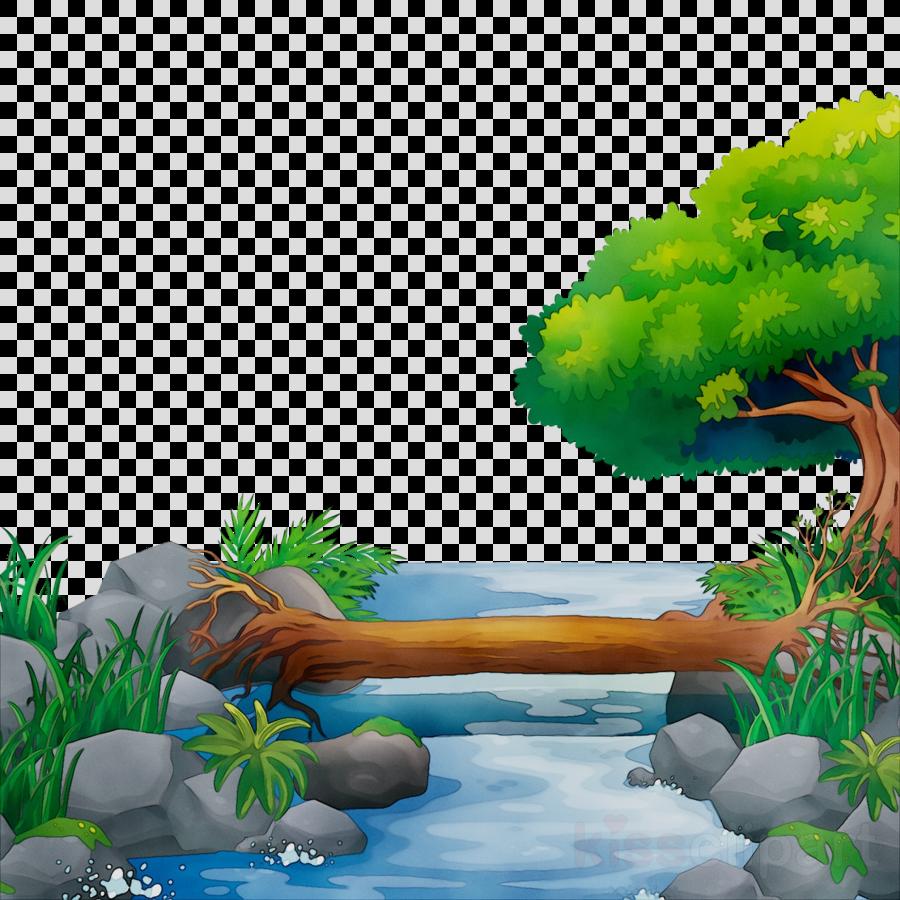 Jungle Background clipart.
