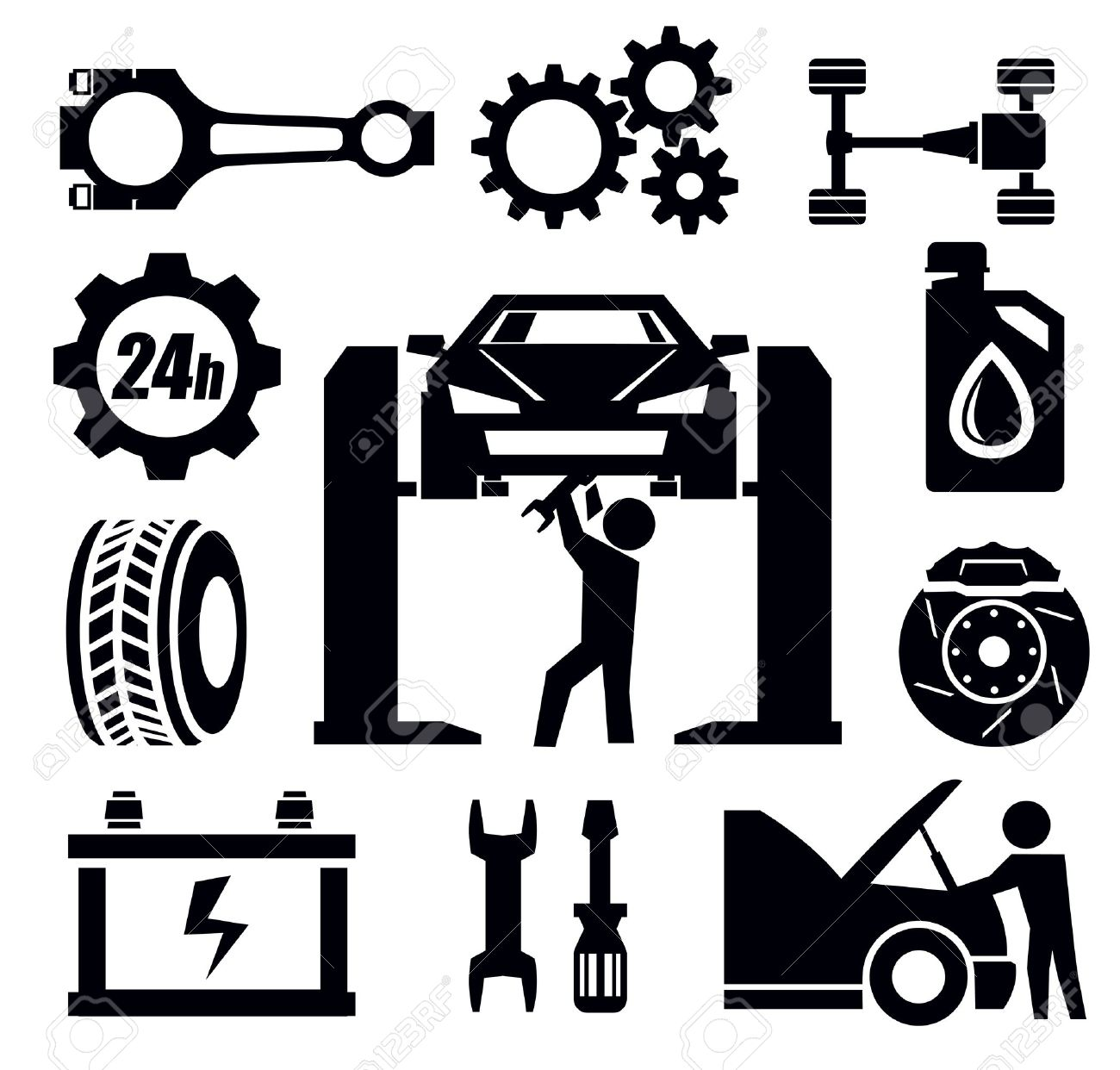 23,381 Auto Repair Cliparts, Stock Vector And Royalty Free Auto.