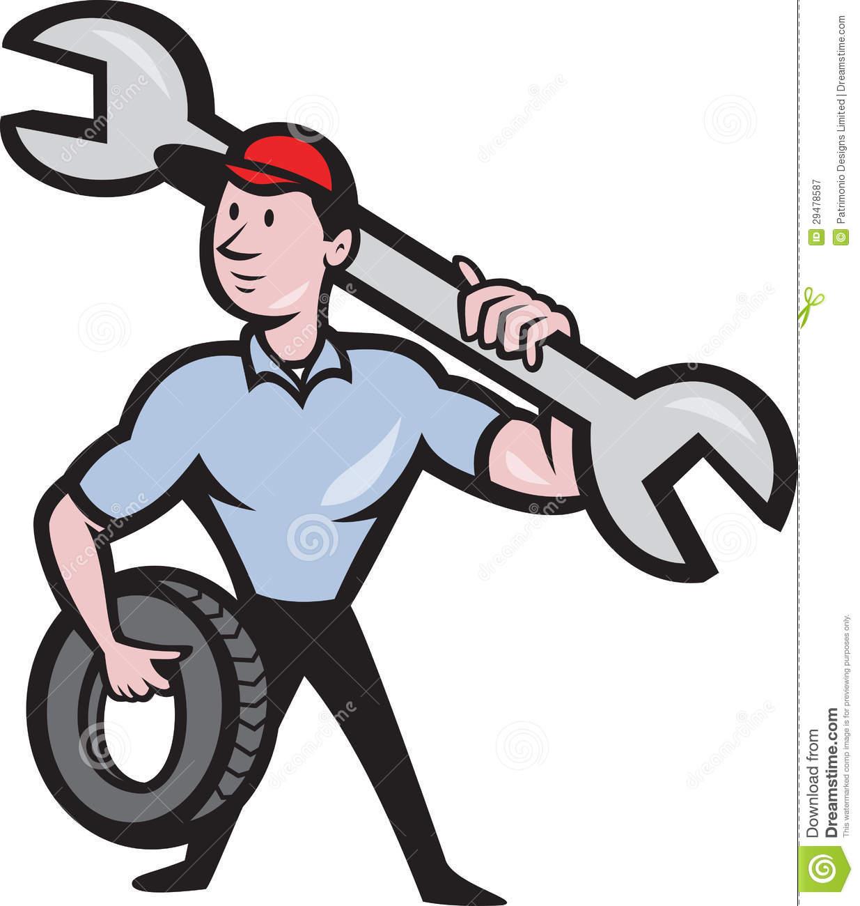 Car Mechanic Clipart.