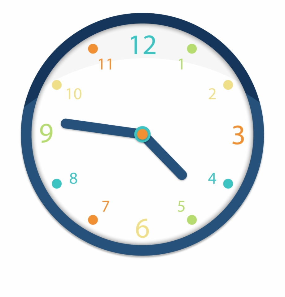 Clock Clipart Png Image.