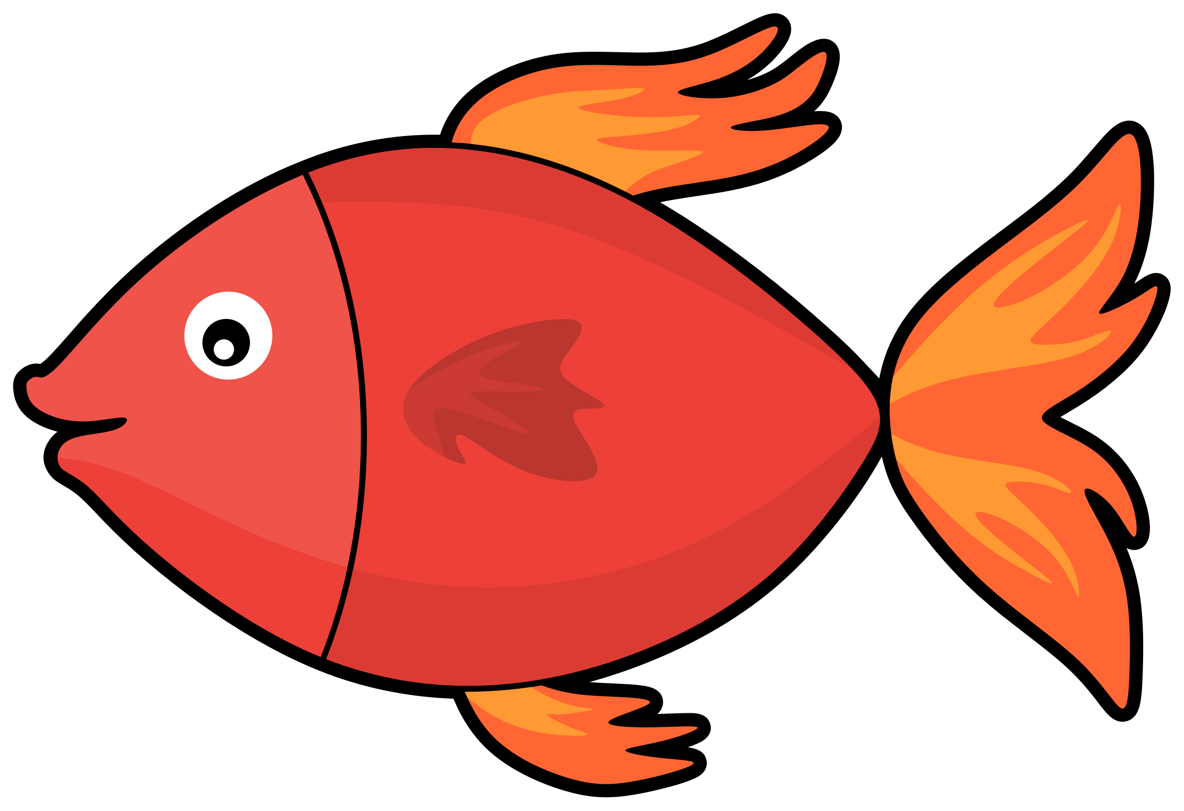 Butterfly Fish Clipart At Getdrawings.